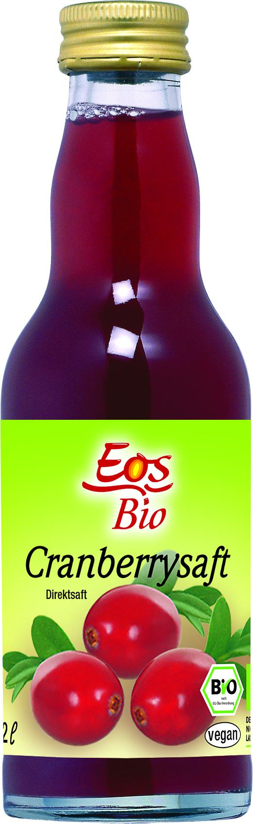 Органічний Сік Eos журавлини  0,2л - купить в интернет-магазине Юнимед