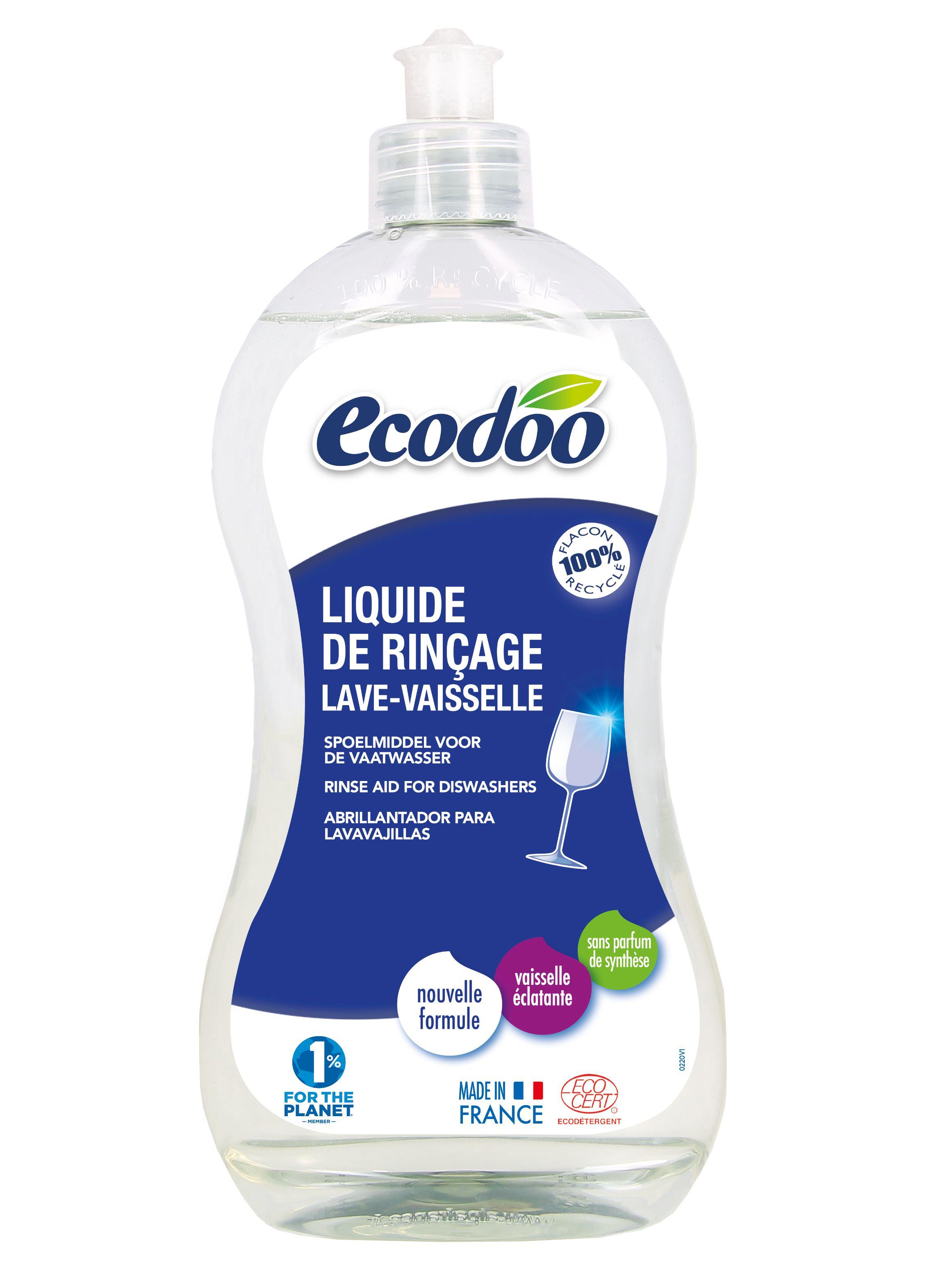 Ecodoo Органічний ополіскувач для посудомийних машин, 500мл - купить в интернет-магазине Юнимед
