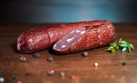 Ковбаса Organic Meat варено-копчена органічна вищий сорт, 400 г - купить в интернет-магазине Юнимед