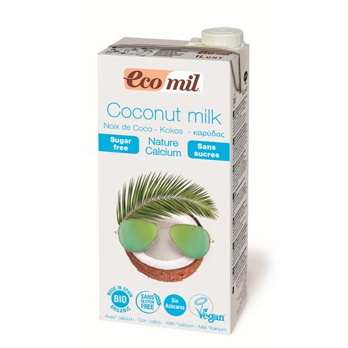 Органічне рослинне молоко з кокосу з кальцієм, 1 л - купить в интернет-магазине Юнимед
