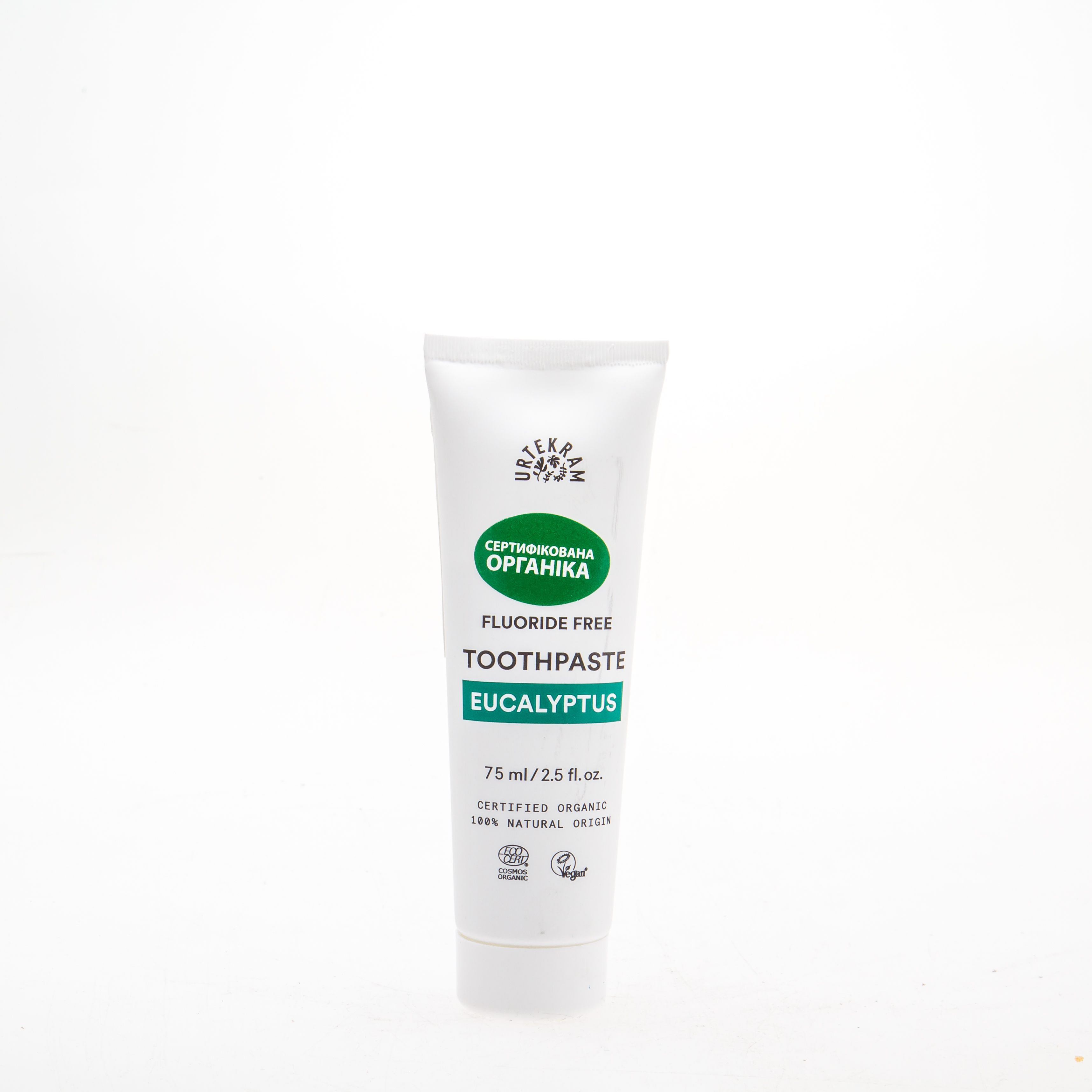 Urtekram Органічна зубна паста з Евкаліптом, 75мл - купить в интернет-магазине Юнимед
