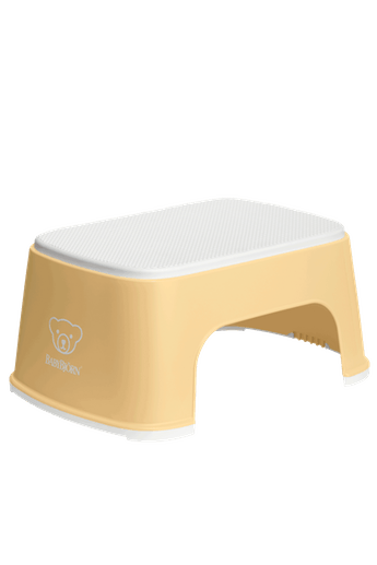 Подставка (Step Stool), блідо-жовтий/білий - купить в интернет-магазине Юнимед