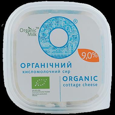 Сир органічний кисломолочний  9,0 %, 300 г - купить в интернет-магазине Юнимед
