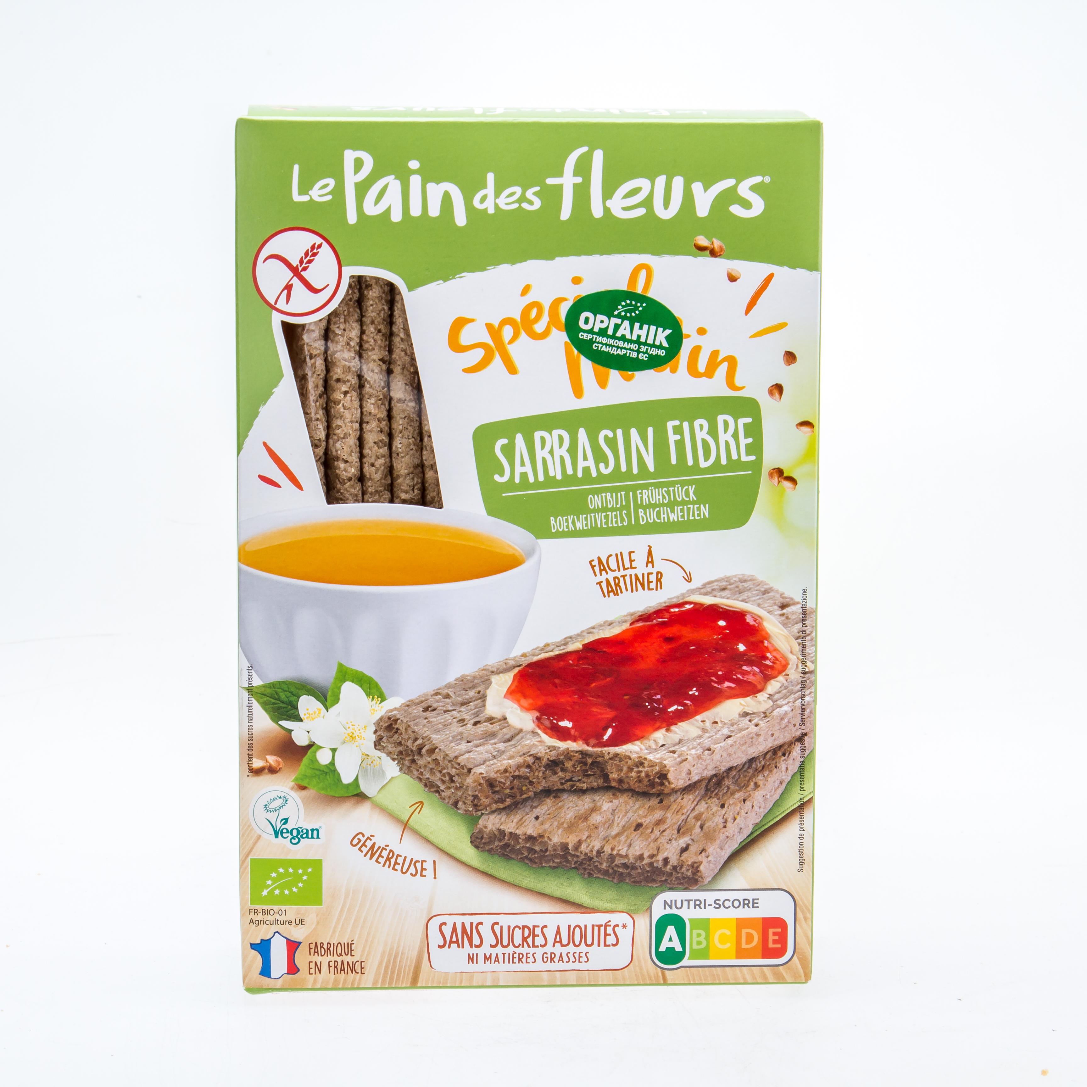 Органічні особливі  хлібці з гречки до сніданку (без глютену) , 230 г - купить в интернет-магазине Юнимед