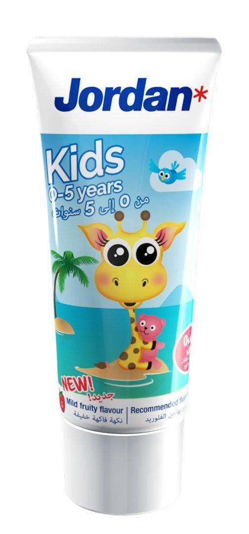 Зубна паста дитяча Jordan Kids 0-5 років - купить в интернет-магазине Юнимед