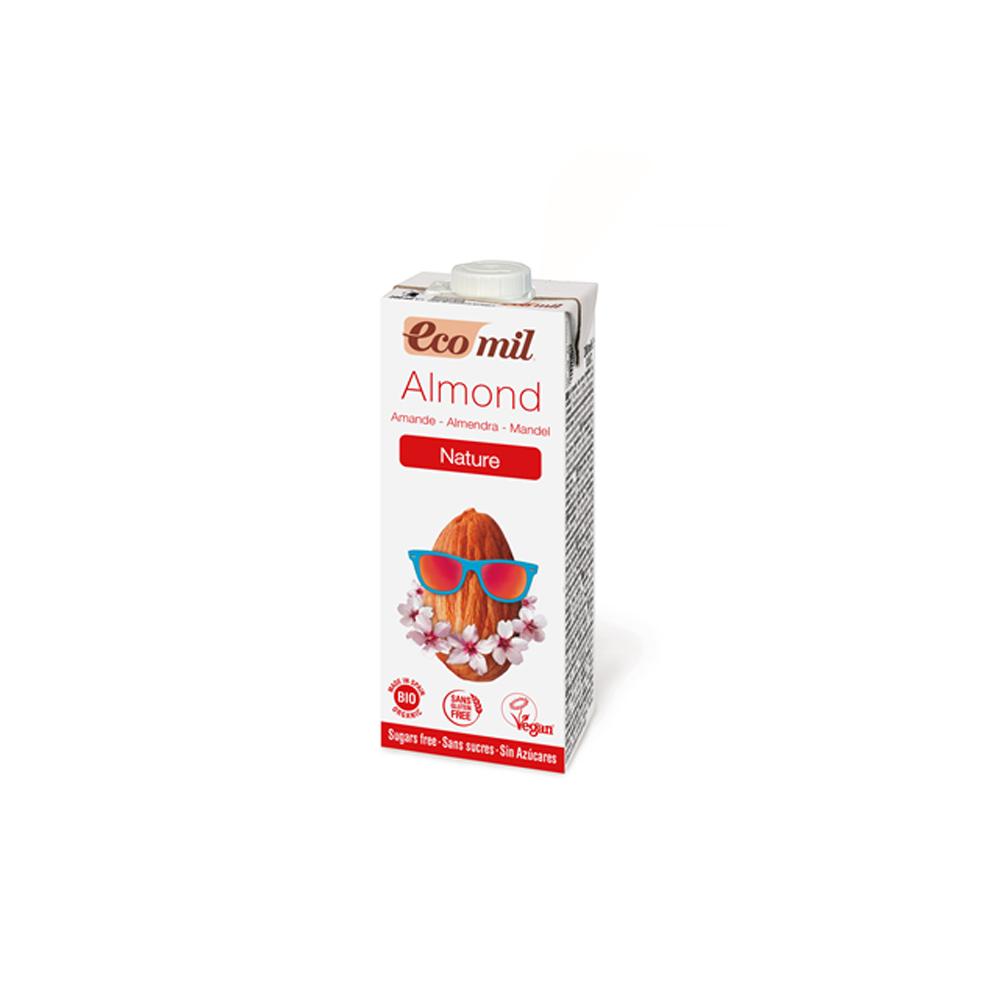 Органічне рослинне молоко з мигдалю без цукру, 0,2л - купить в интернет-магазине Юнимед