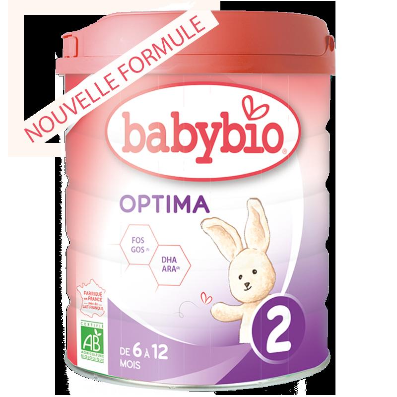 BabyBio Optima2 Суміш дитяча молочна органічна для годування немовлят від 6 до 12 місяців 800 гр - купить в интернет-магазине Юнимед