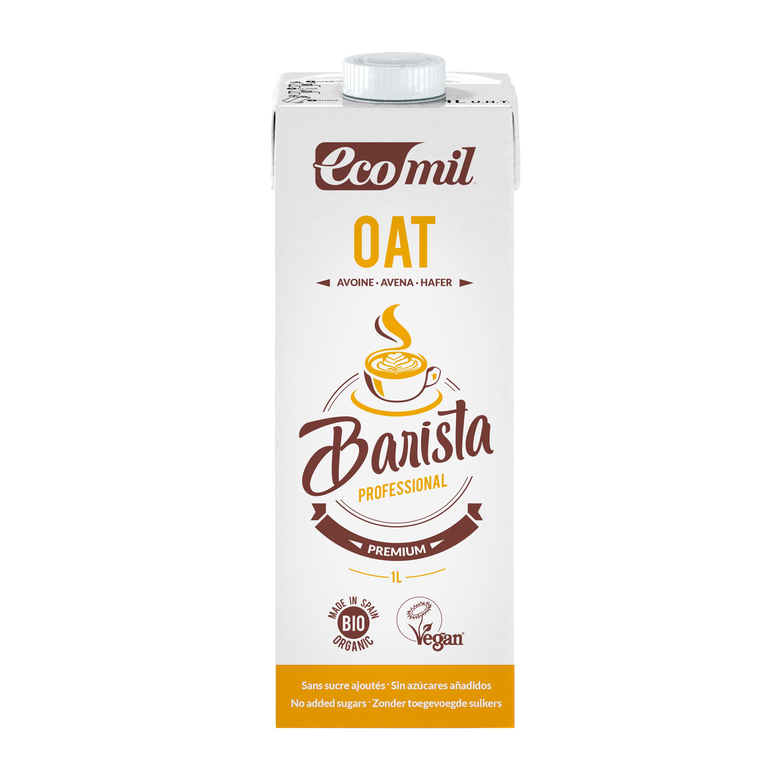 Органічне рослинне молоко з вівса Бариста, 1л - купить в интернет-магазине Юнимед