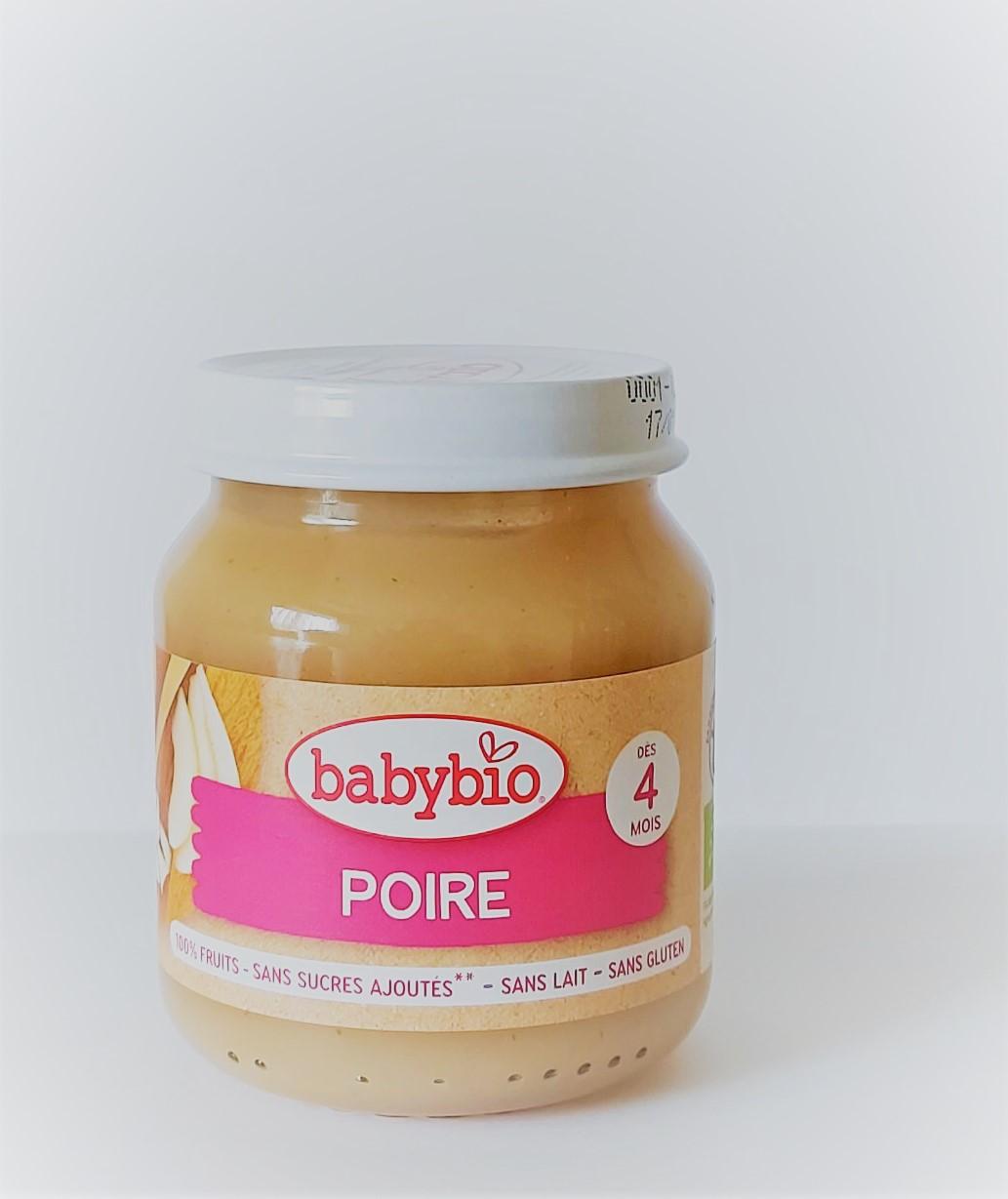 Органічне дитяче пюре з груші для дітей з 4 місяців, 130 гр - купить в интернет-магазине Юнимед
