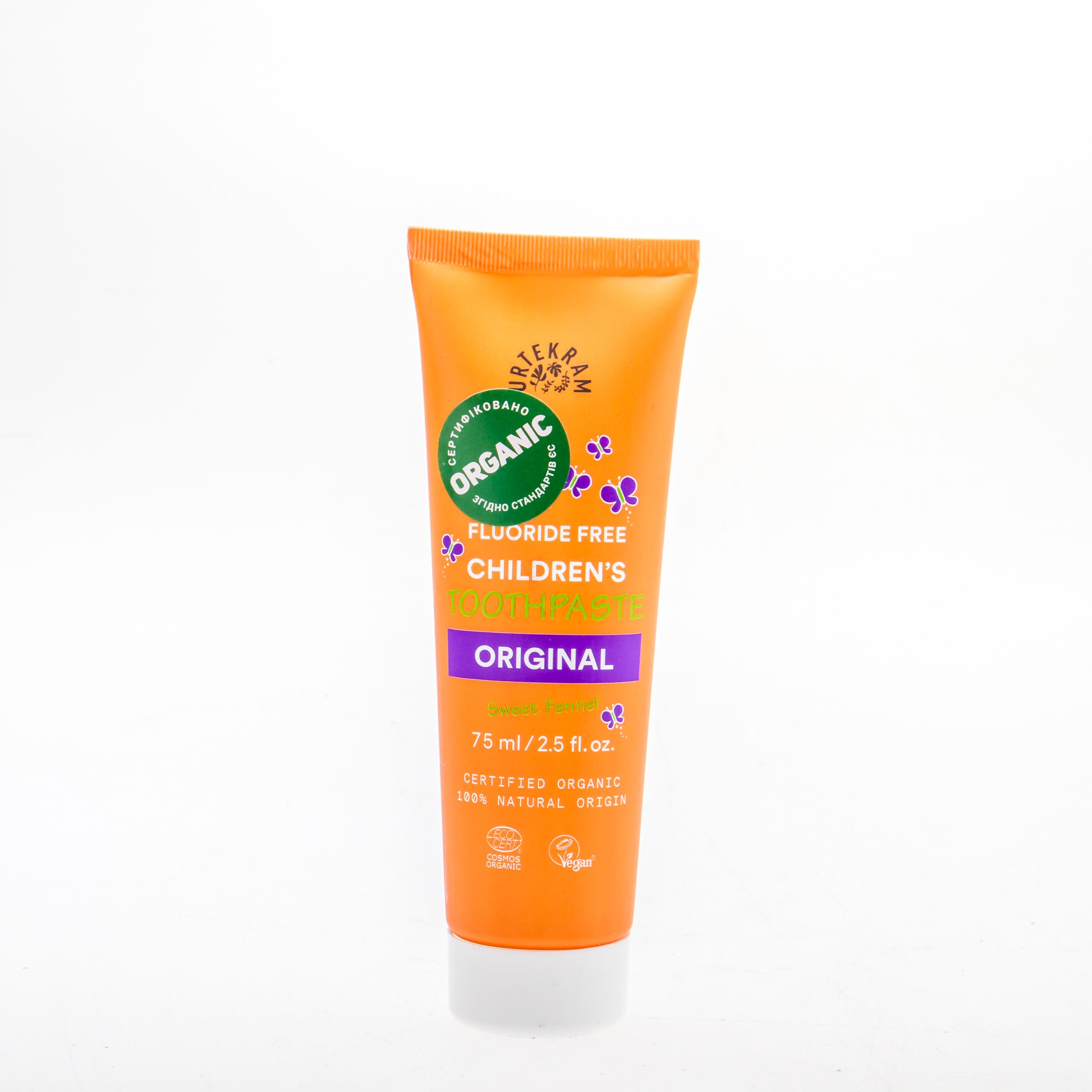 Urtekram Органічна дитяча зубна паста, 75 мл - купить в интернет-магазине Юнимед