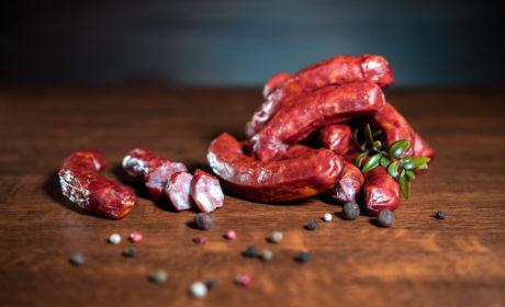Ковбаски Organic Meat напівкопчені органічні перший сорт 300г - купить в интернет-магазине Юнимед