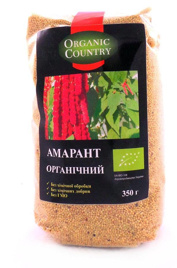 Амарант  Organic Country, 350 г - купить в интернет-магазине Юнимед