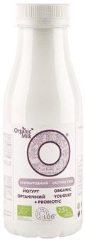 Йогурт безлактозний органічний (з пробіотиком) 2,5 %, 300мл - купить в интернет-магазине Юнимед