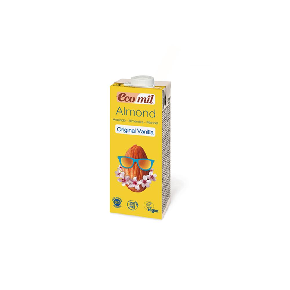 Органічне рослинне молоко з мигдалю з сиропом агави і з ваніллю, 200мл - купить в интернет-магазине Юнимед