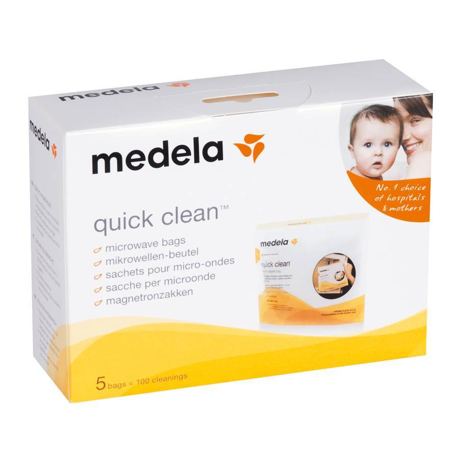 Пакети для парової стерилізації в мікрохвильовій пічі (Quick Clean Microwave Bags) 5 шт. - купить в интернет-магазине Юнимед