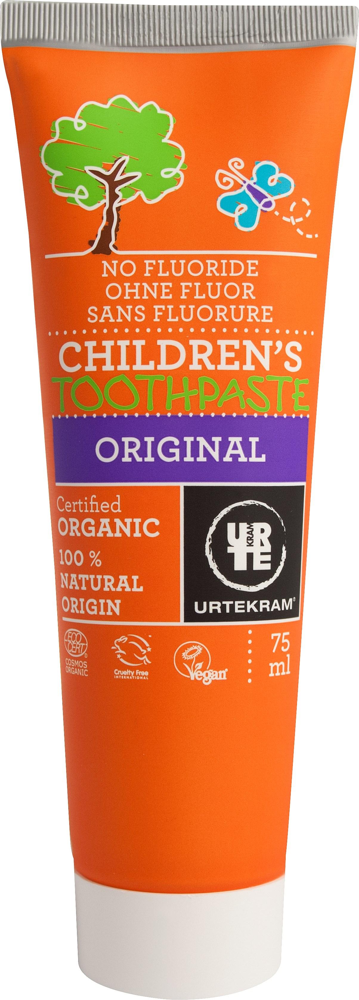 Urtekram Органічна дитяча зубна паста. 75мл - купить в интернет-магазине Юнимед