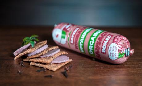 Ковбаса варена органічна ORGANIC MEAT для харчування дітей дошкільного та шкільного віку вищий гатунок, 1 кг - купить в интернет-магазине Юнимед