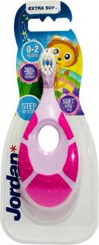Дитяча зубна щітка Jordan Step1 0-2 років (м`яка) - купить в интернет-магазине Юнимед