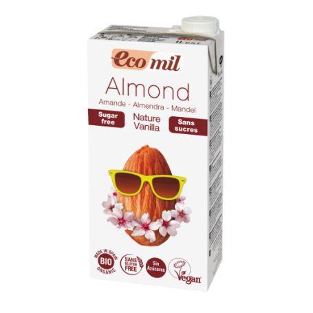 Органічне рослинне молоко з мигдалю з ваніллю. Без цукру. 1л - купить в интернет-магазине Юнимед